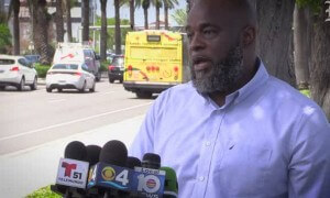 Charles Kinsey discusses shooting after meeting with autistic man he cared for