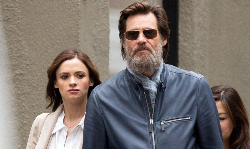 Exclusive... 51746749 'The Bad Batch' actor Jim Carrey spotted out with Cathriona White in New York City, New York on May 18, 2015. The pair held hands as they made their way down the street. **NO AUSTRALIA OR NEW ZEALAND** FameFlynet, Inc - Beverly Hills, CA, USA - +1 (818) 307-4813 RESTRICTIONS APPLY: NO AUSTRALIA