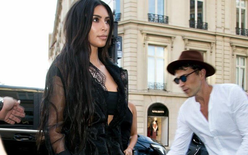 Kim Kardashian attacked
