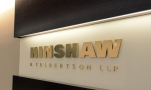 Hinshaw Culbertson LLP   082713