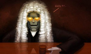 robot judge