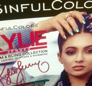 Kylie Jenner Accused of Copying Photos For Cosmetics Line