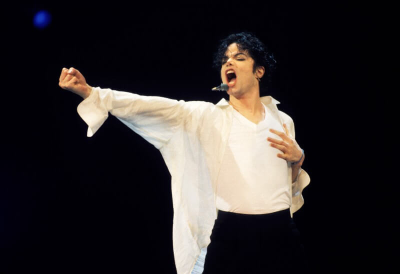 VARIOUS, VARIOUS - JUNE 25: Michael Jackson performs at the 12th Annual MTV Video Music Awards at Radio City Music Hall in New York City on September 7, 1995. (Photo by Kevin Mazur/WireImage)