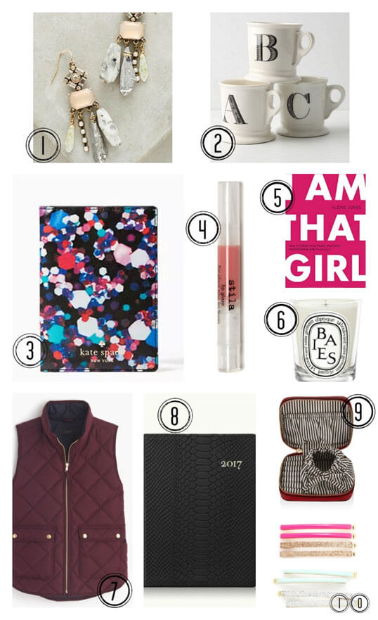 2016 Holiday Gift Guide for Your Best Female Friend