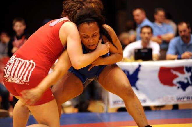 Transgender athlete competing in wrestling state finals in Cypress