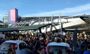 travel ban protest Google