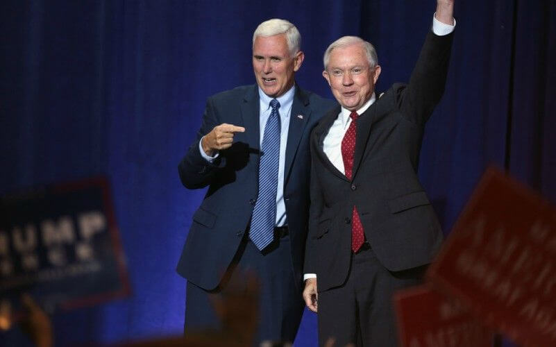 Jeff Sessions Recuses Himself from Any Trump Investigation