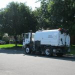 Man Tries to Make a Clean Getaway with a Street Sweeper
