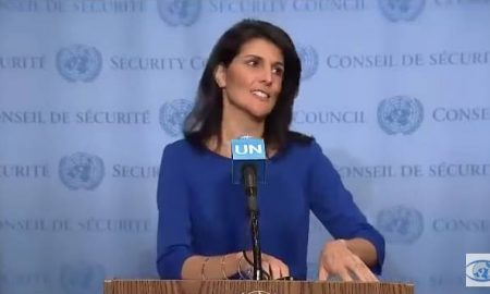 Watch Nikki Haley call out the U.N. on Israel