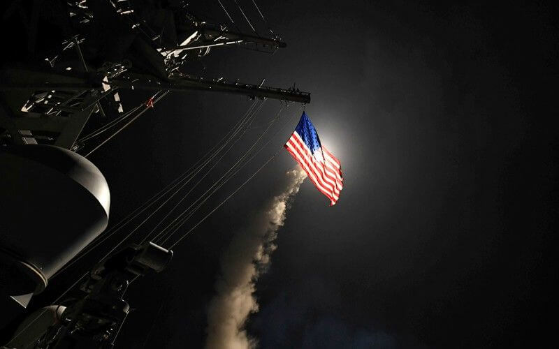 Trump Orders Strike on Syria for Using Chemical Agents on Civilians