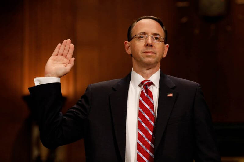 Who is Deputy Attorney General Rod Rosenstein?