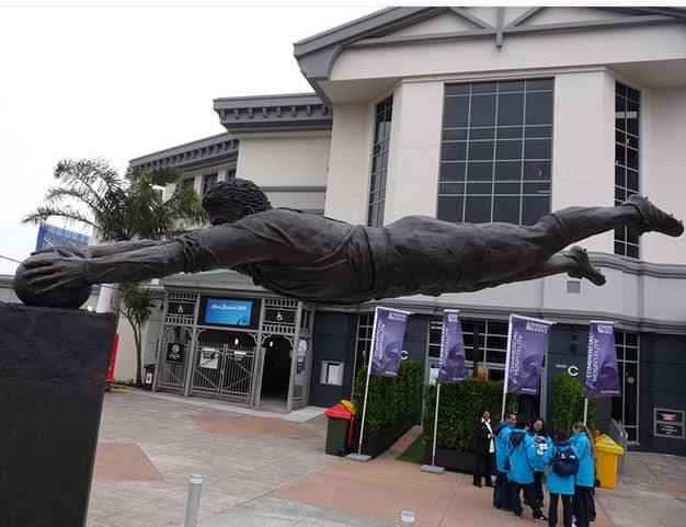 """Basketball"" Statue"