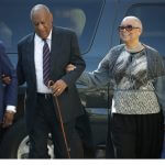 Bill Cosby's Wife Accompanies Him to Rape Trial