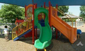 Trinity Lutheran playground