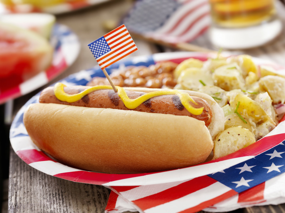 The United States consumes the most food per capita.