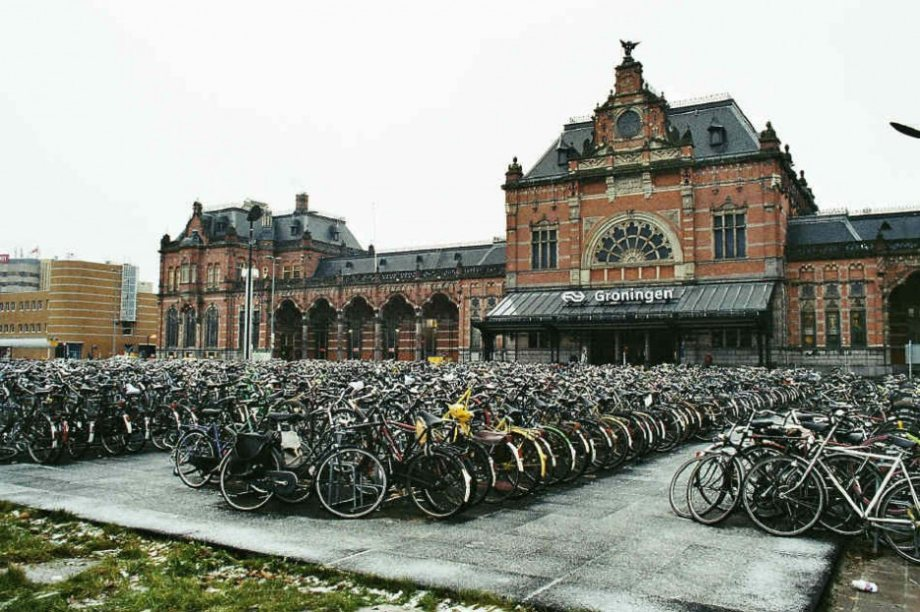 The Netherlands is the most bicycle friendly country in the world.