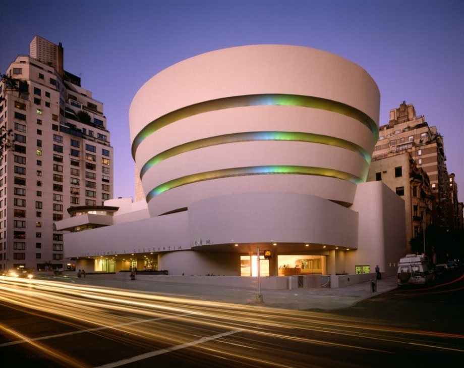 The Guggenheim Building is the most photographed place in the US.