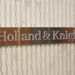 Holland & Knight to Settle Malpractice Suit