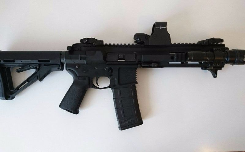 automatic weapon