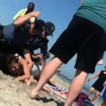 Viral Video: Police Officer Punches Underage Drinker on New Jersey Beach