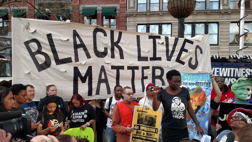 Black Lives Matter protest at Union Square, Manhattan Photo by The All-Nite Images