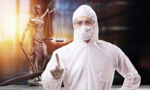 Florida Lawyer Wears Full Hazmat Suit to Court