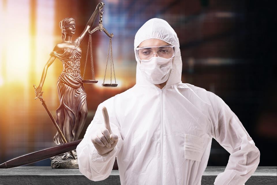 Florida Lawyer Wears Full Hazmat Suit to Court